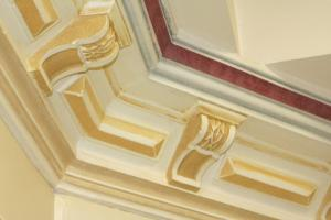 Ornate Cornice in place at tafeSA Gilles Plains South Australia