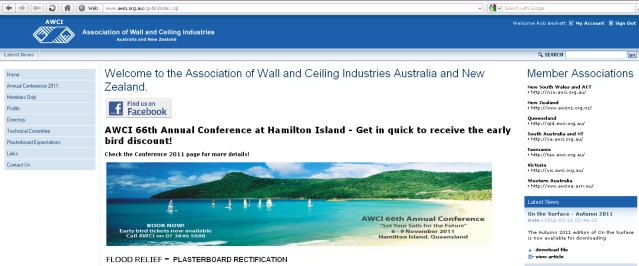 AWCIA home page