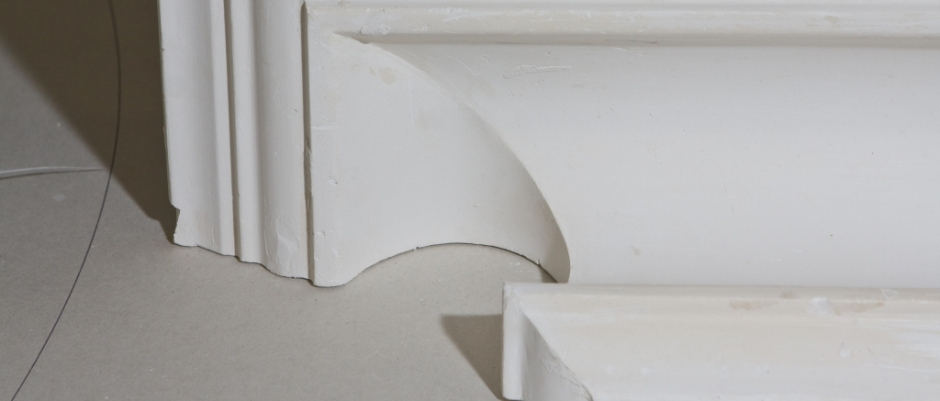 Ornate Cornice with Return End Mitre