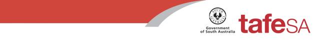 tafeSA logo and website link