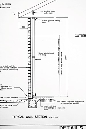 Wall Detail Plan
