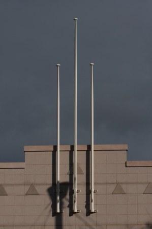 Victoria Park Entrance Flag Poles